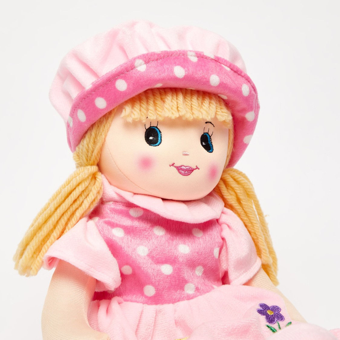 Rag Doll in Textured Dress