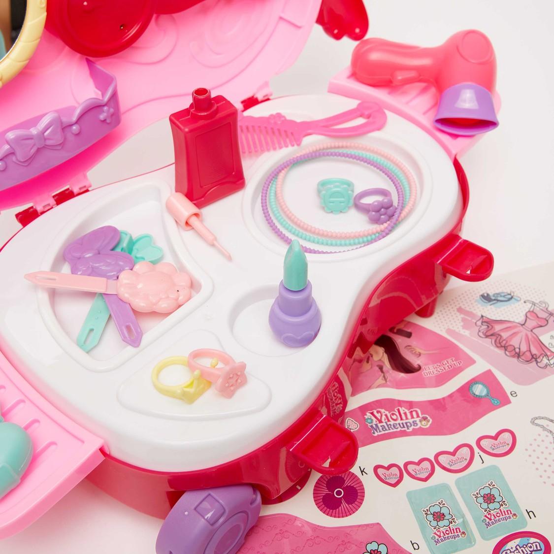 Violin Makeup Trolley Playset