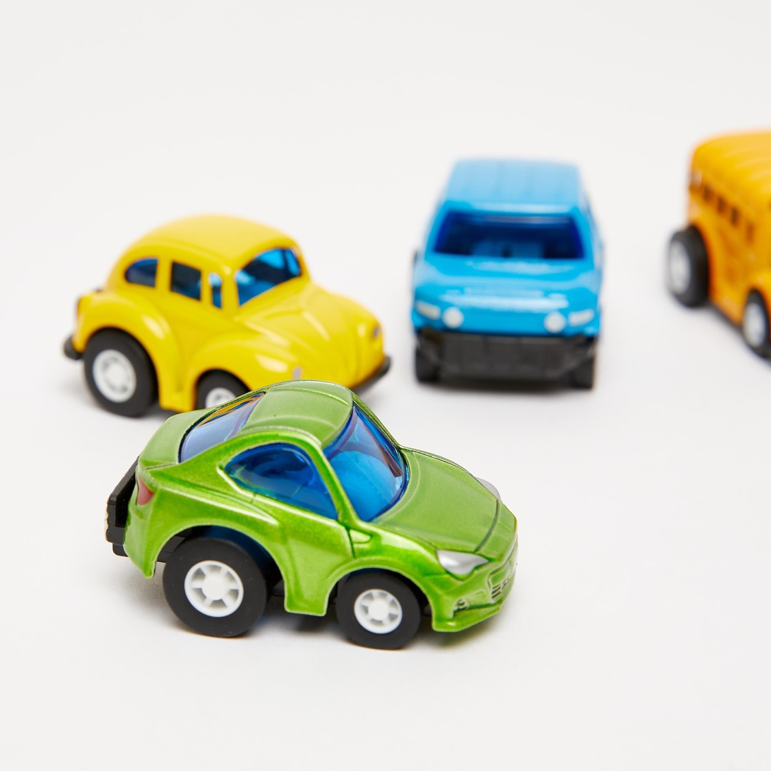 Pull-Back Mini Car Toy Set