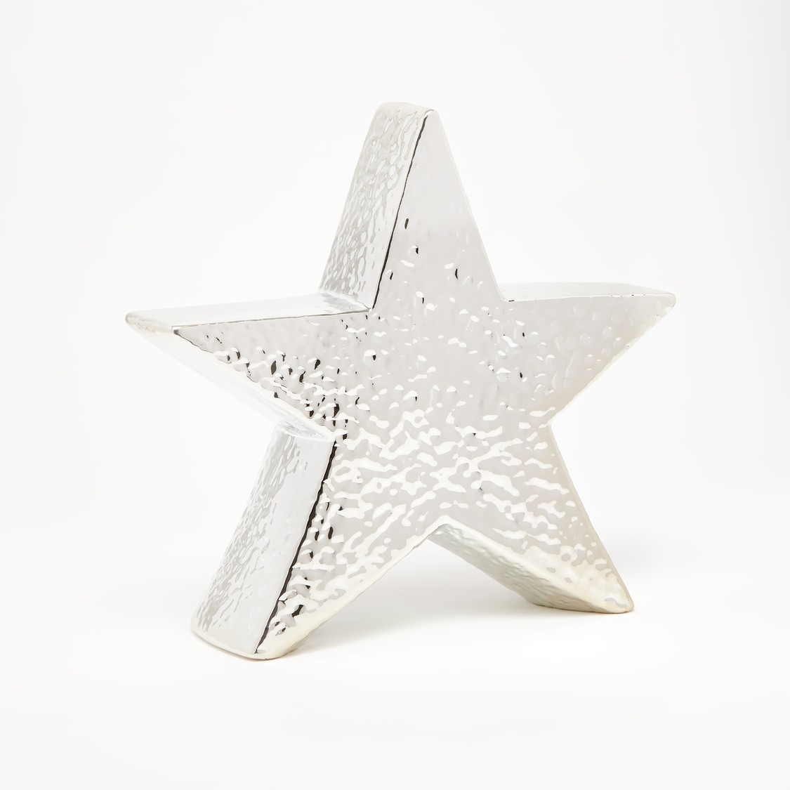 Textured Star Shaped Decor Object