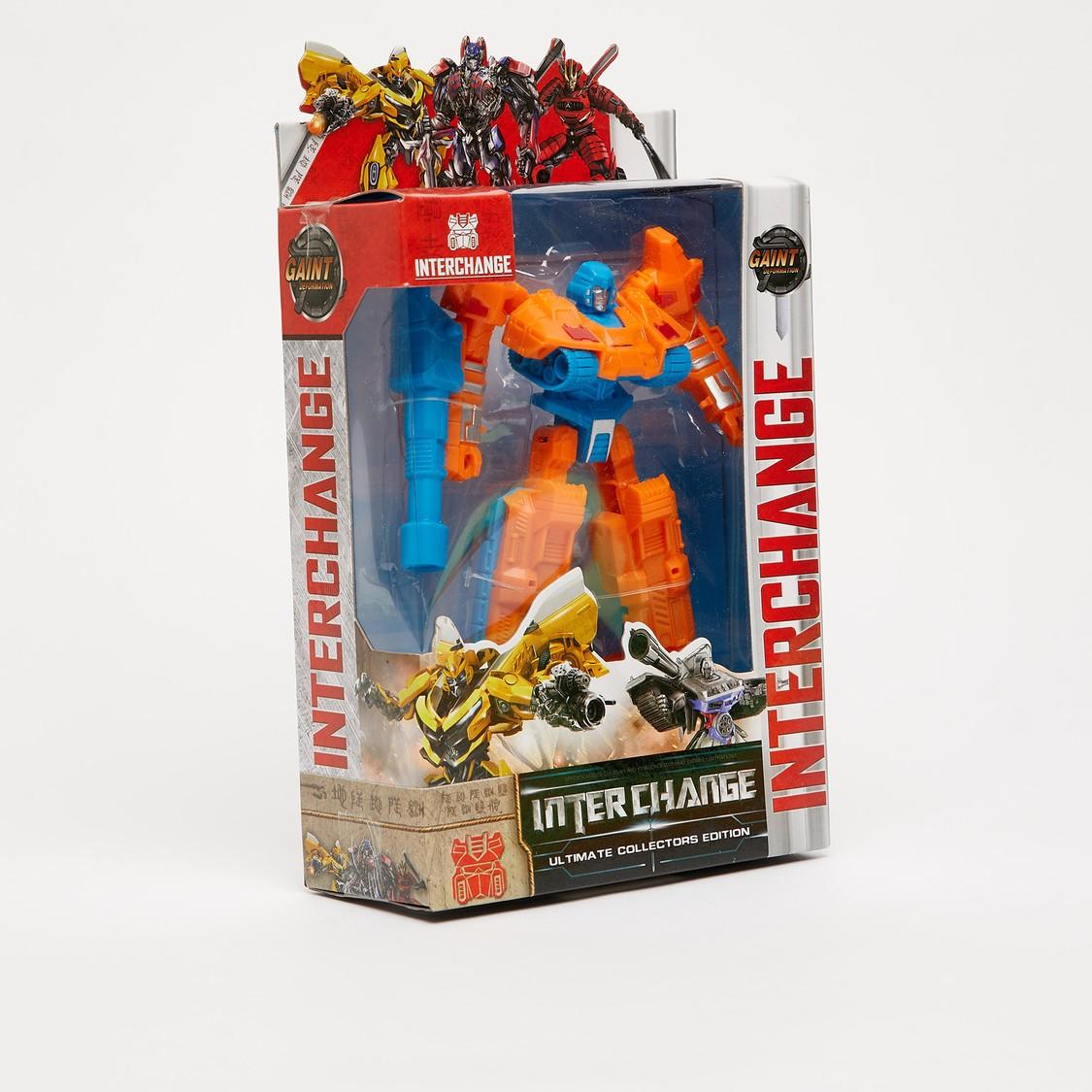 Interchange Action Figurine