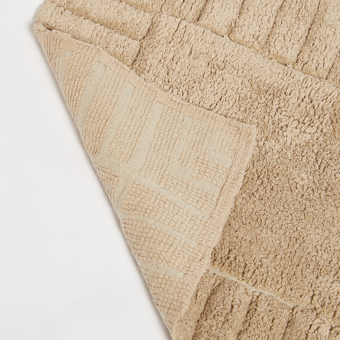 Textured Rectangular Bath Mat - 80x50 cms