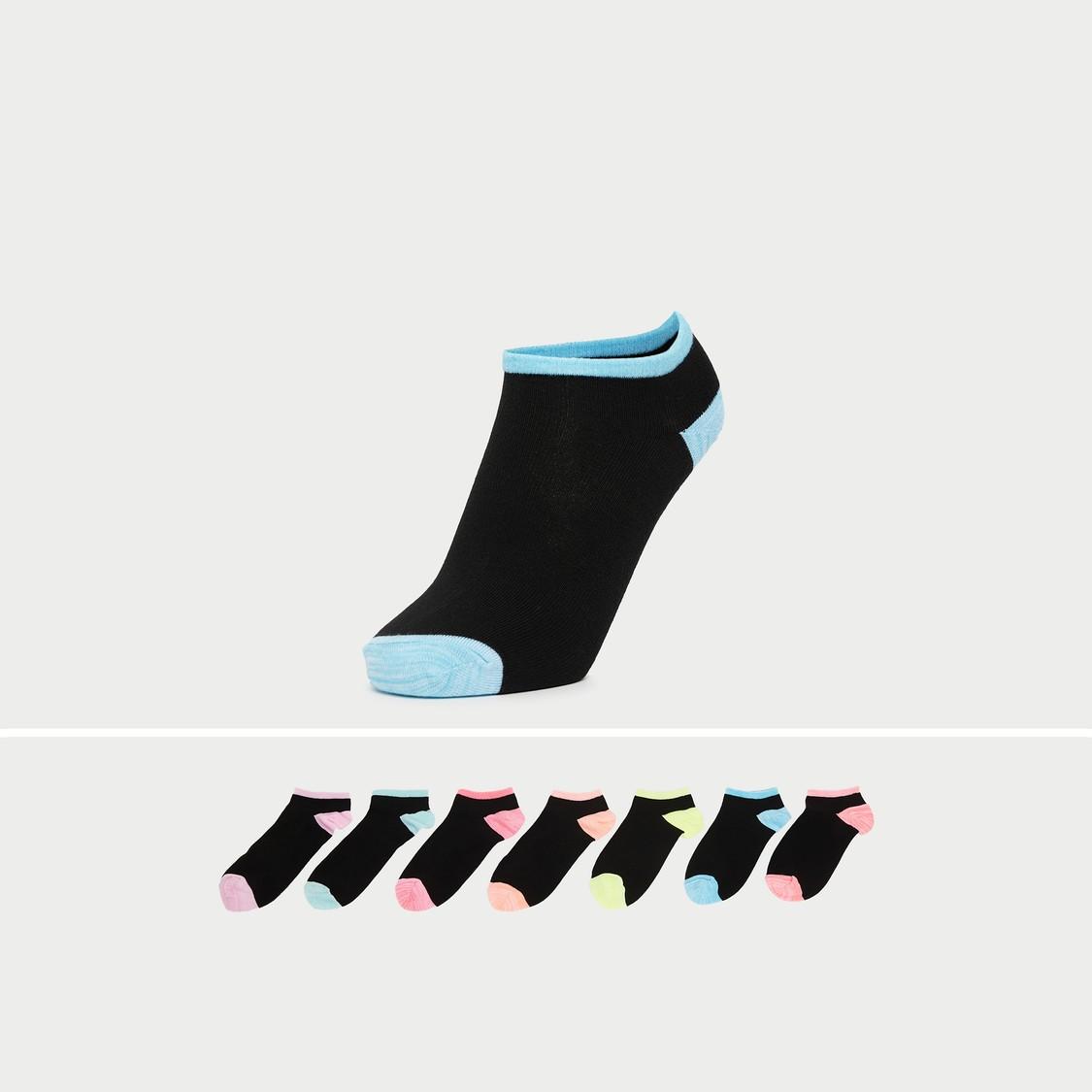 Set of 7 - Ankle Length Socks