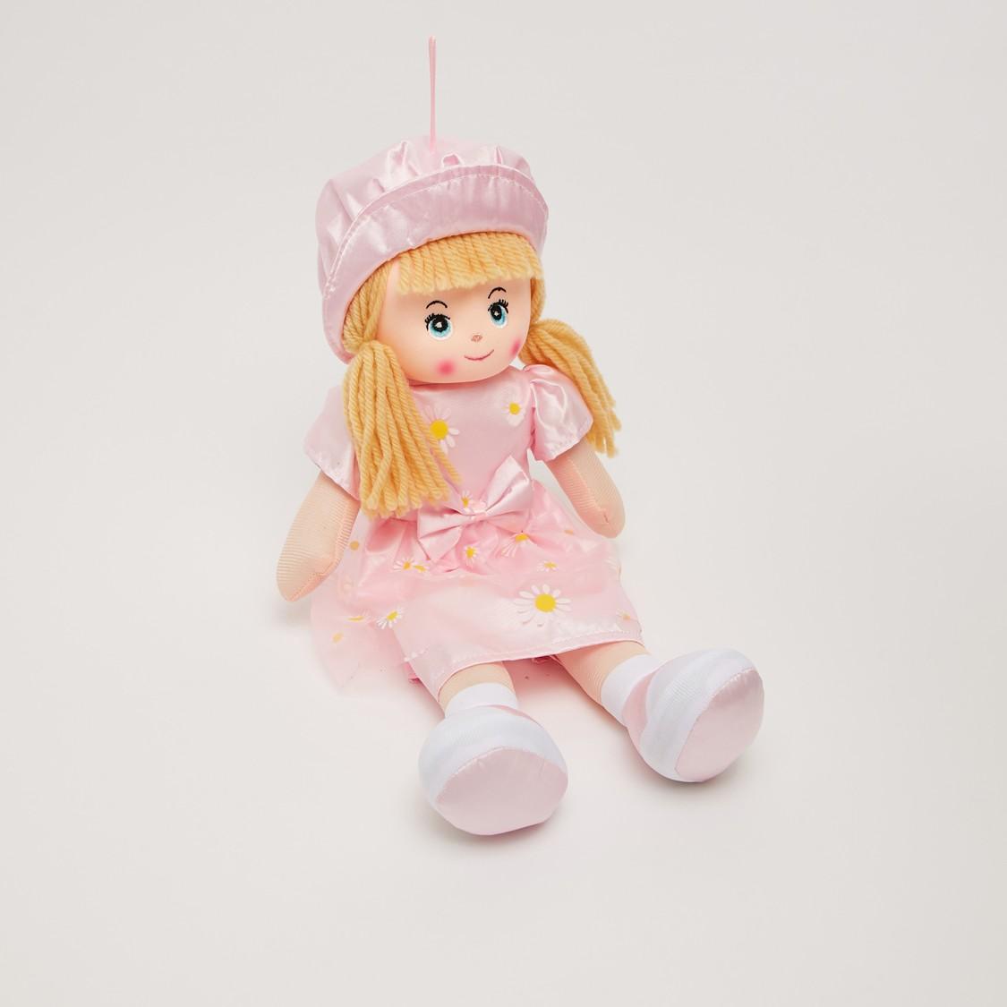 All-Over Print Dress Rag Doll