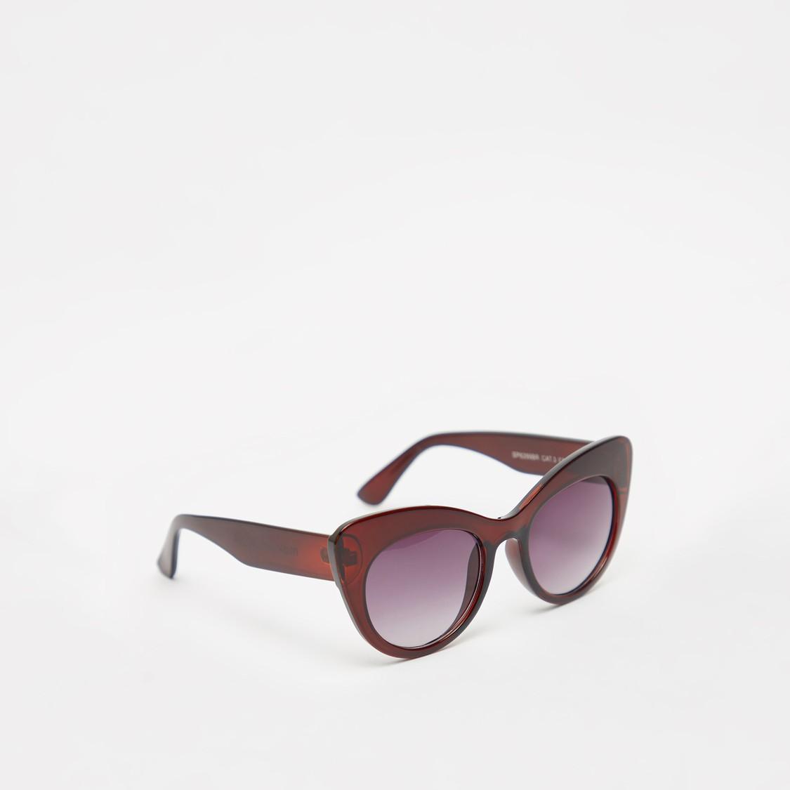 Full Rim Cat-Eye Sunglasses