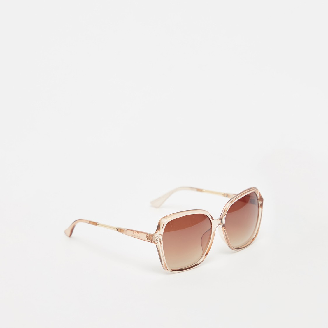 Full Rim Tinted Sunglasses with Nose Pads