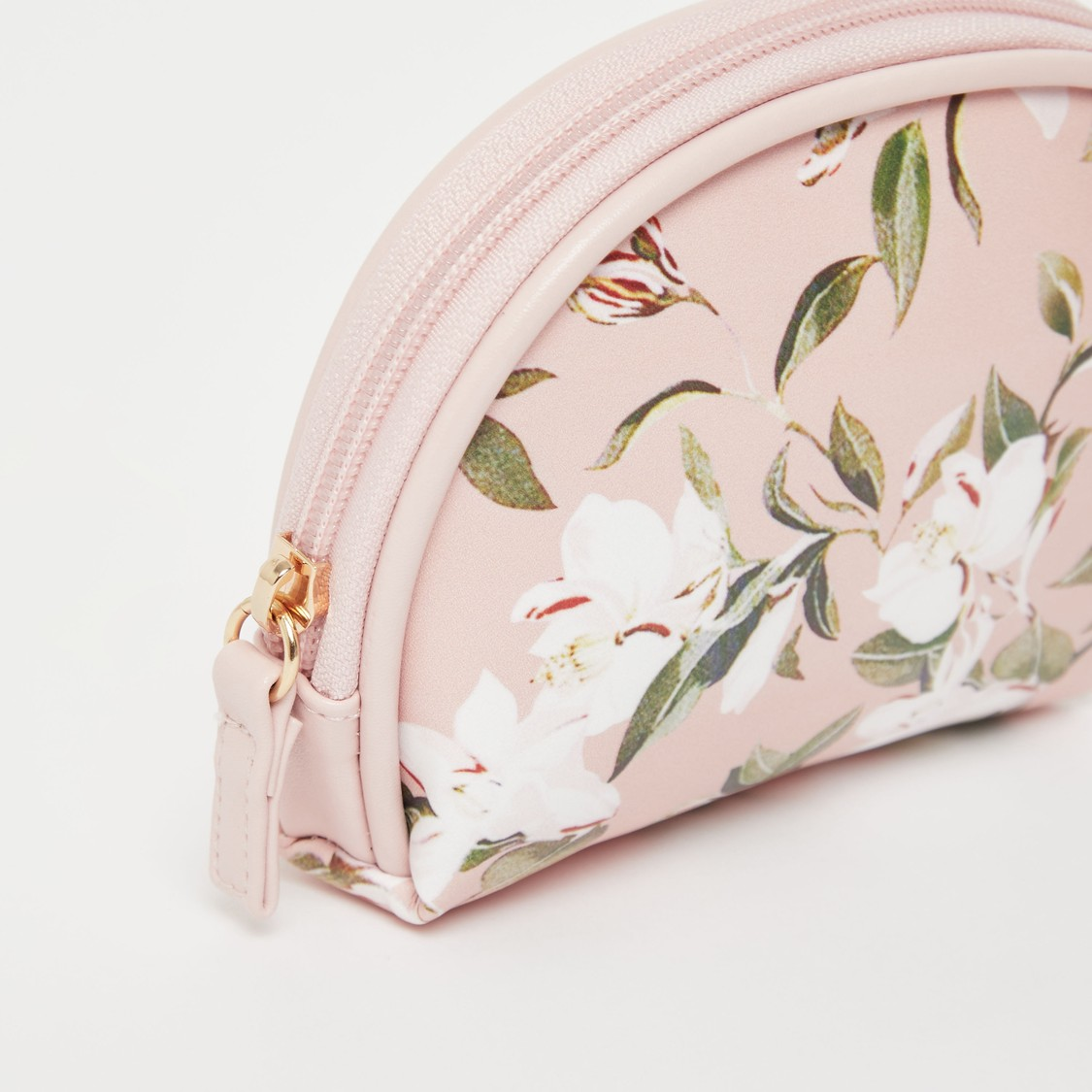 Floral Print 3-Piece Pouch Set