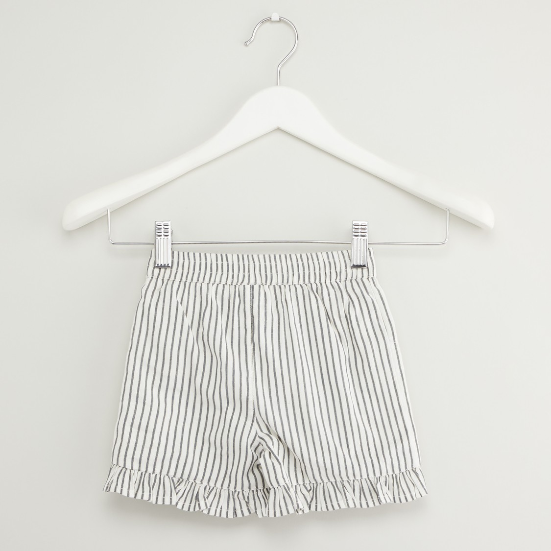 Striped Sleeveless Top and Shorts Set