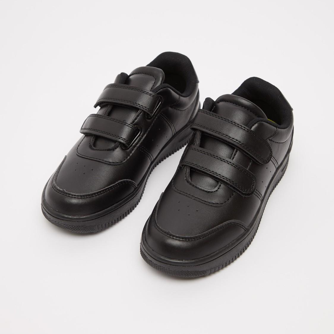 حذاء سادة بشريط إغلاق