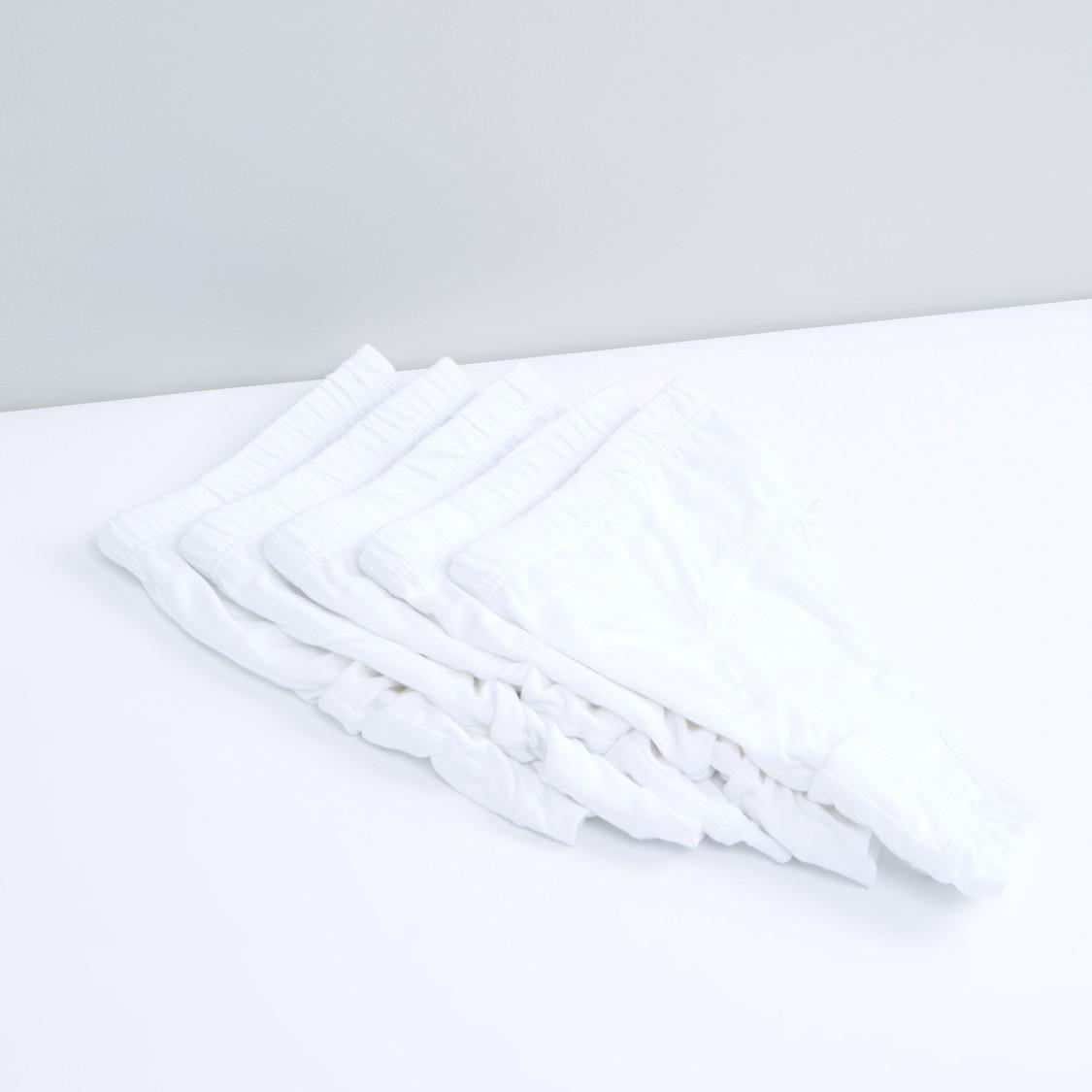 سراويل داخلية بخصر مطّاطي - طقم من 5 قطع