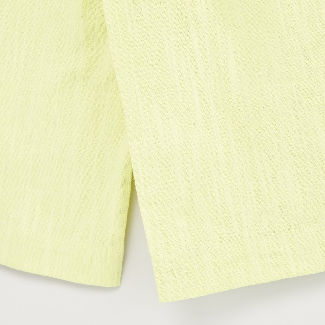 Solid Belted Culottes with Pockets