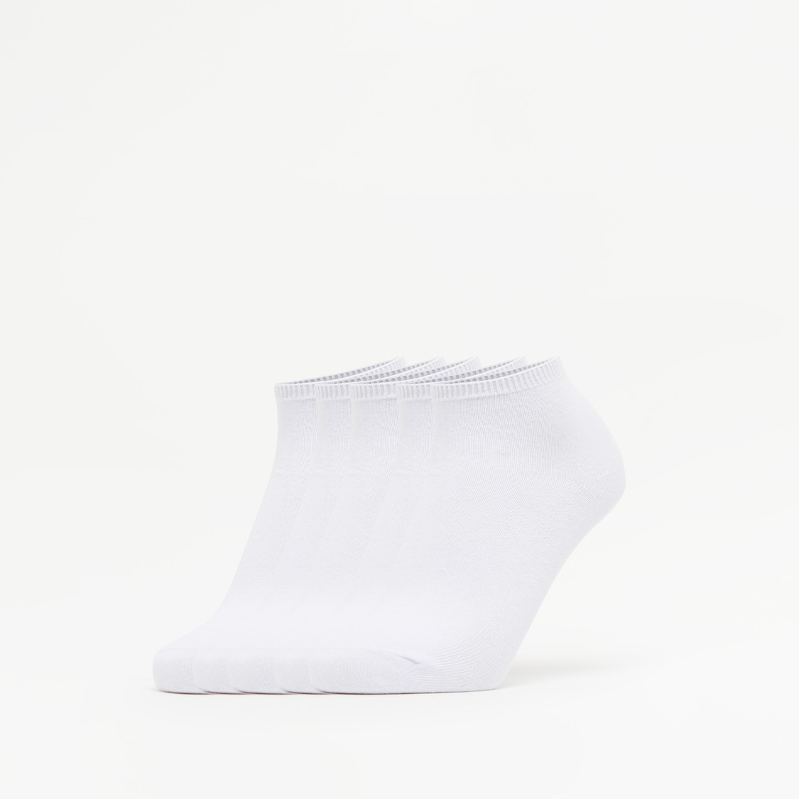 Set of 5 - Solid Ankle Length School Socks