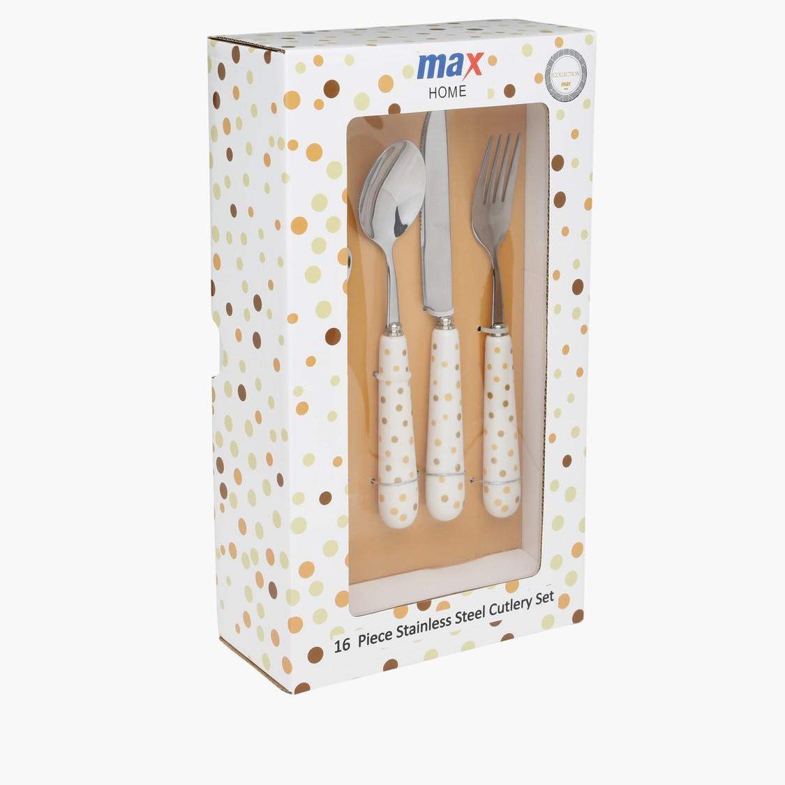 16-Piece Cutlery Set