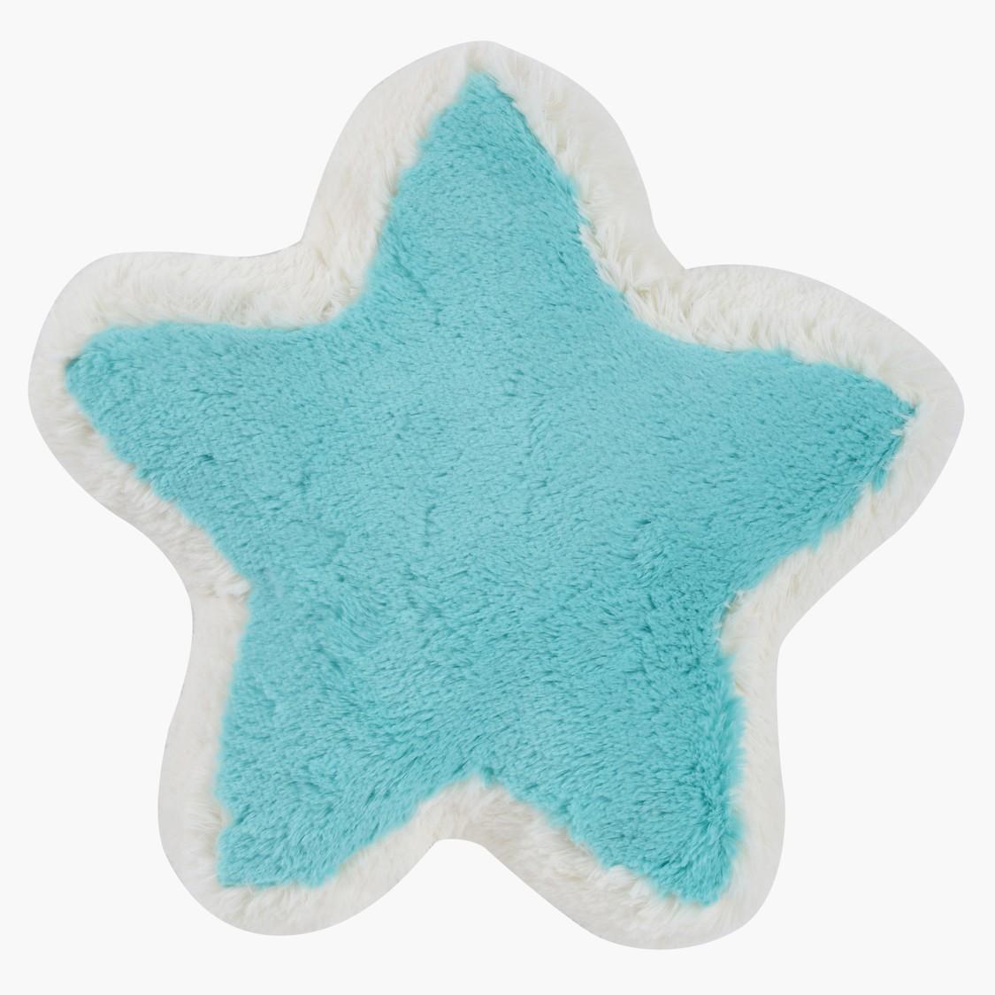 Plush Star Cushion - 37x37 cms