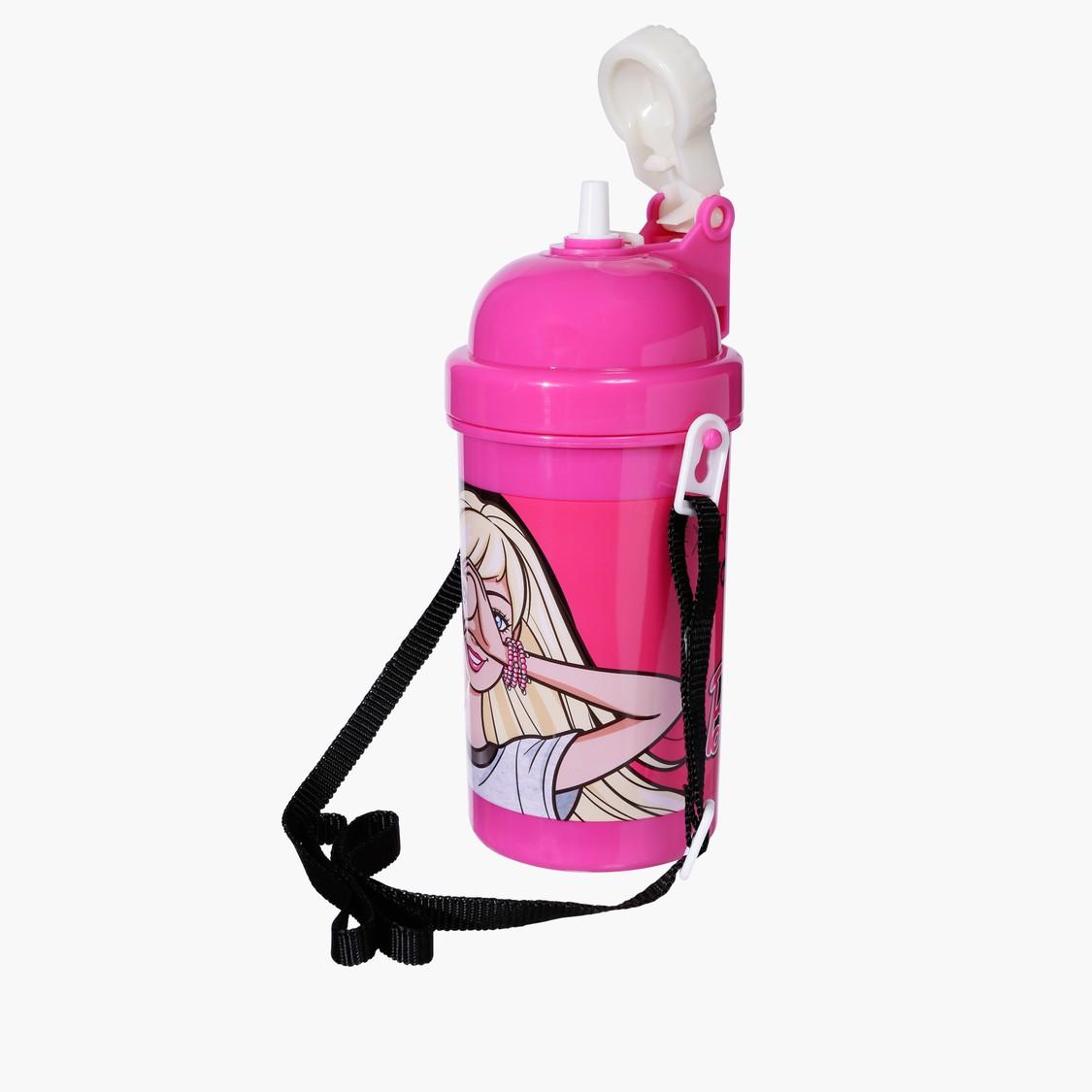 زجاجة ماء بطبعات باربي
