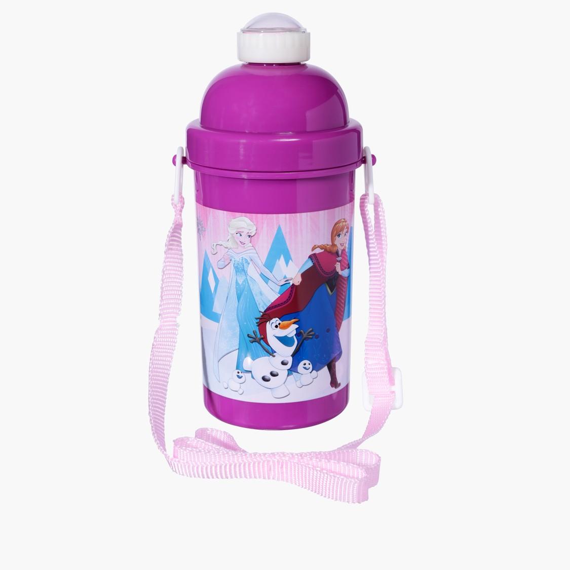 Frozen Printed Water Bottle