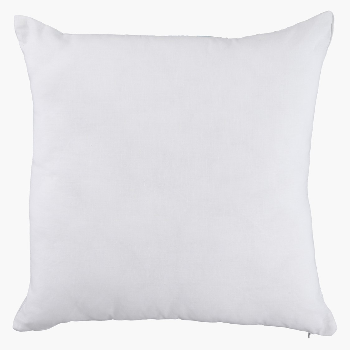 Embroidered Square Filled Cushion - 45x45 cms