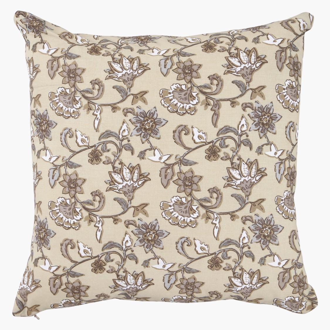 Printed Square Filled Cushion - 45x45cms