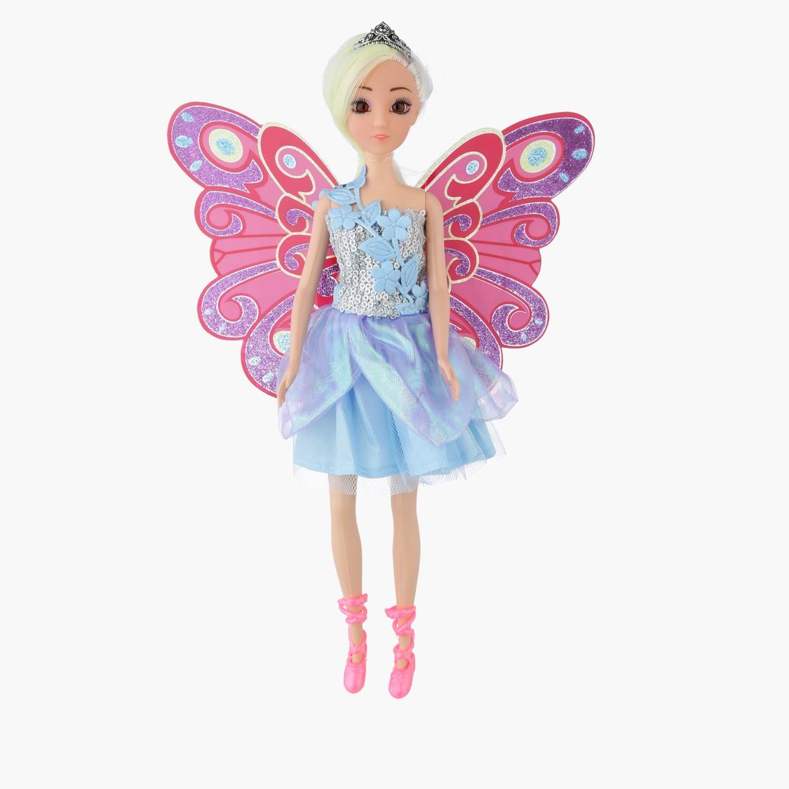 Emily Flower Fairy Doll