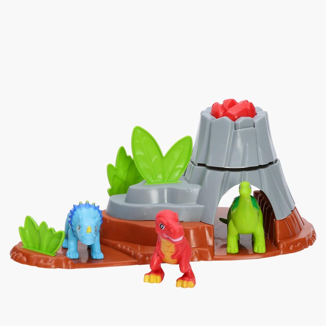 Super Duper Dinosaurs Volcano Playset