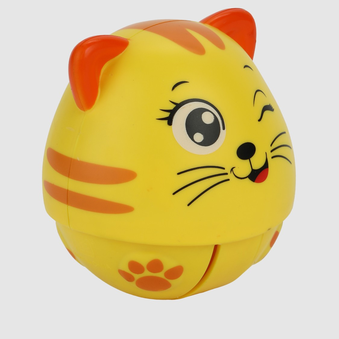 كوب بعجلة دوارة بتصميم قطة مع صوت
