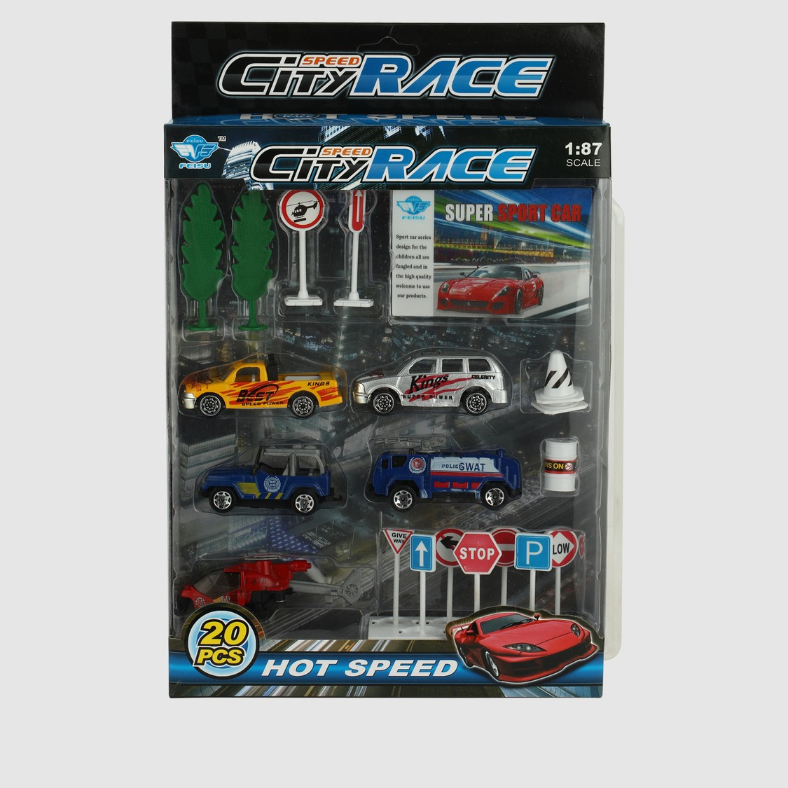 Speed City Race Car Set