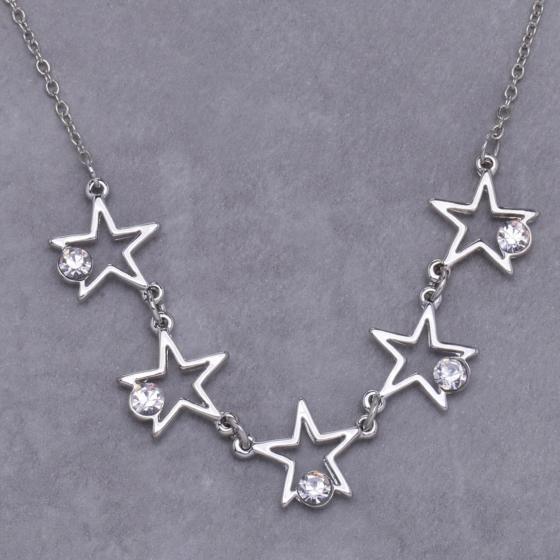 Embellished Star Necklace