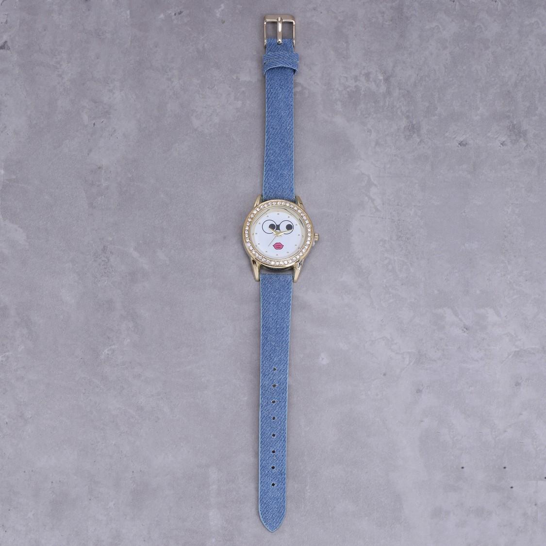Embellished Wrist Watch