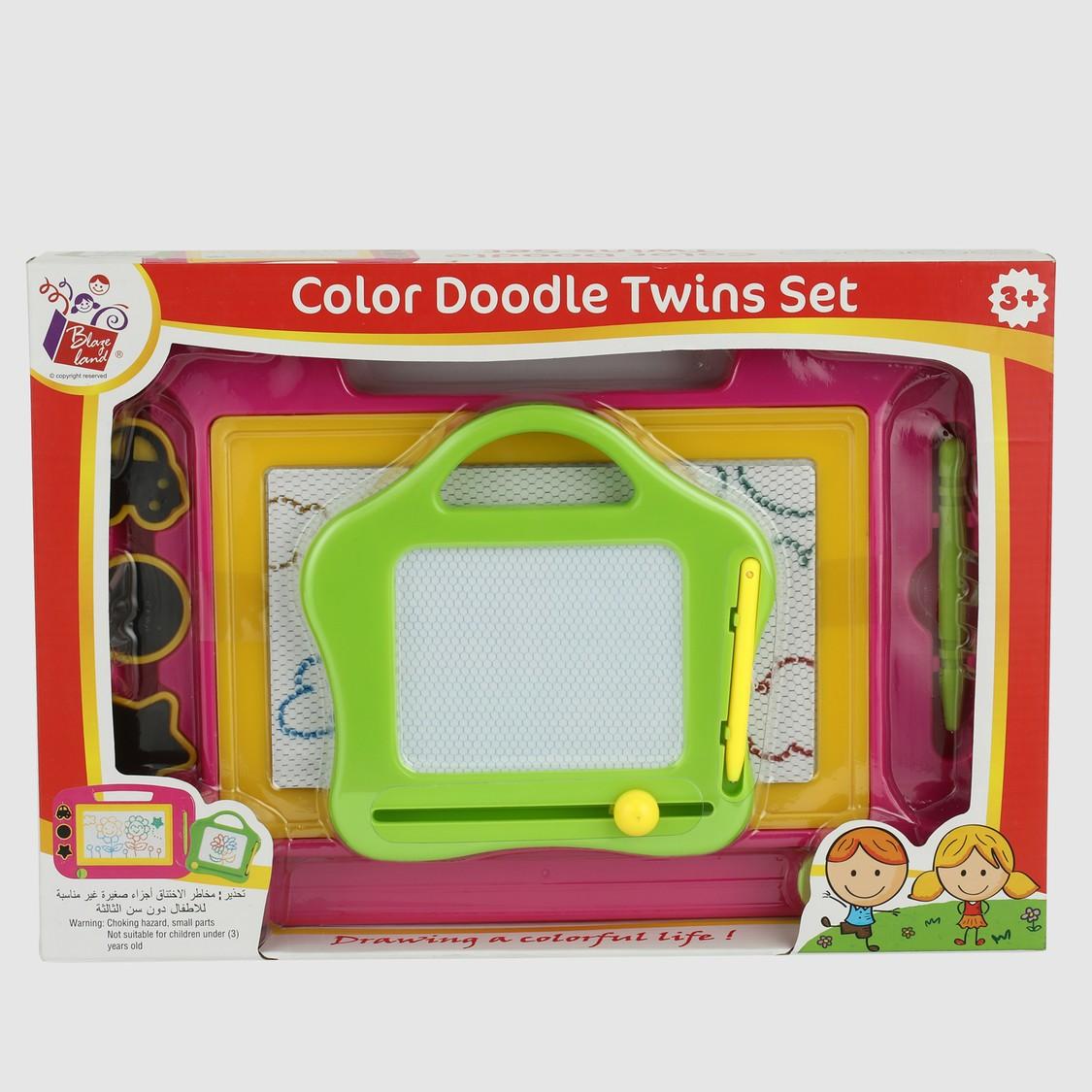 Colour Doodle Twins Set
