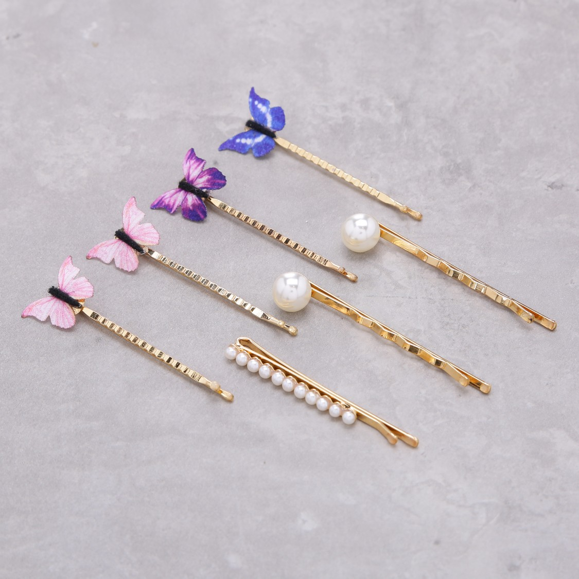 Assorted Hair Clip - Set of 7