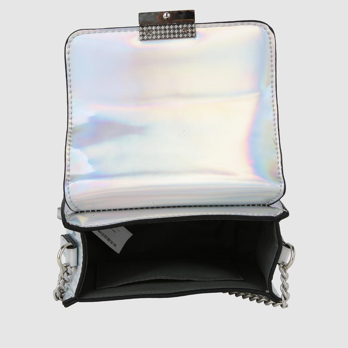 Glossy Crossbody Bag