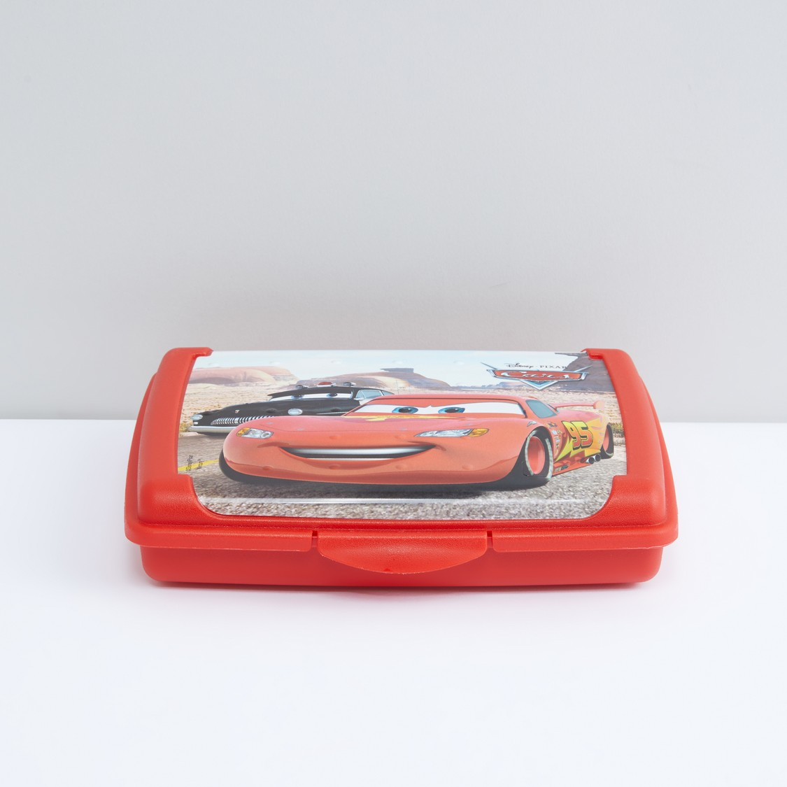 Cars Printed Lunchbox with Clip Closure