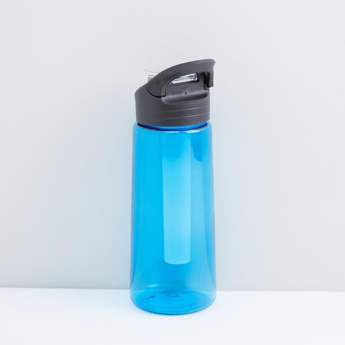 Flip Top Water Bottle with Freezer Stick - 650 ml