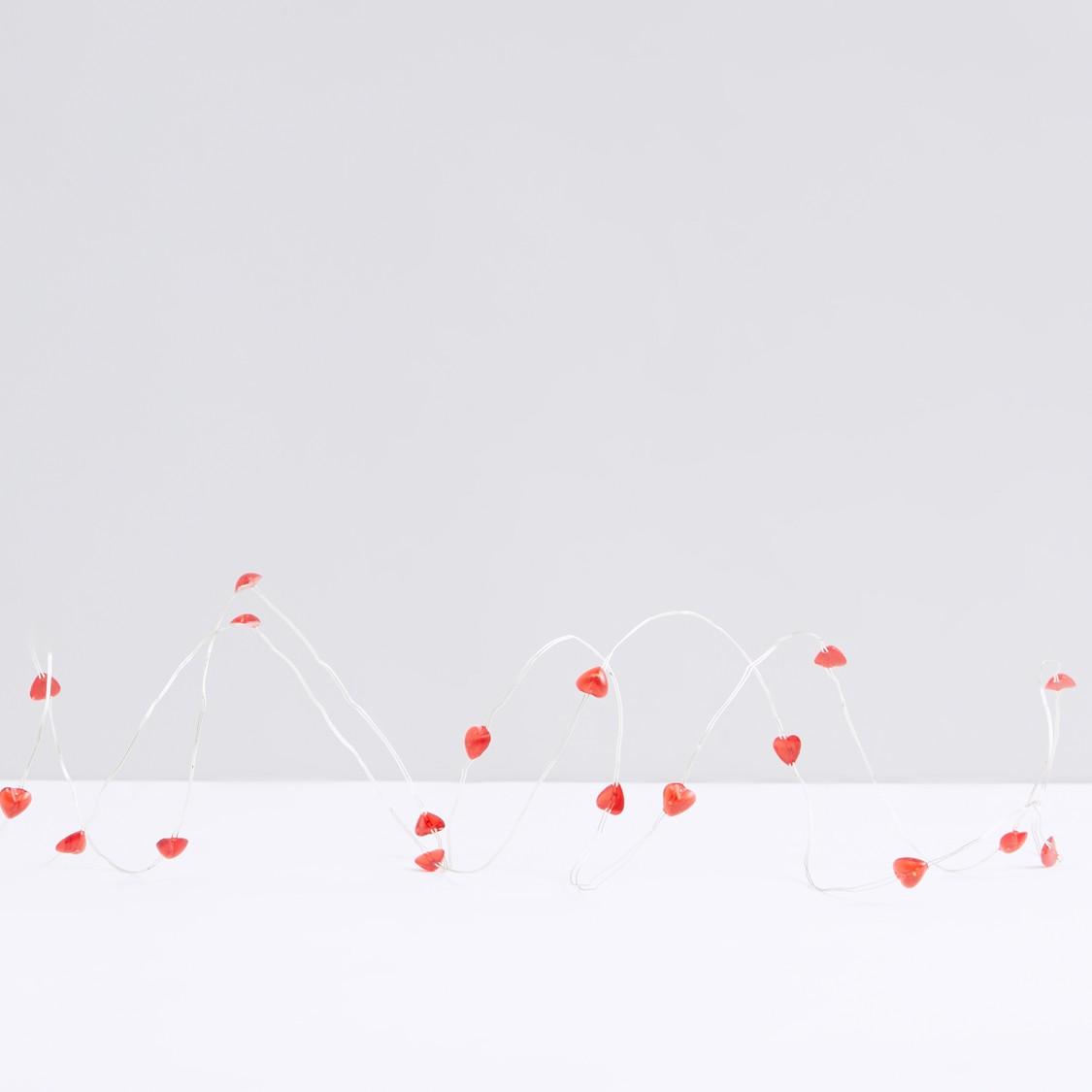 Heart LED String Lights