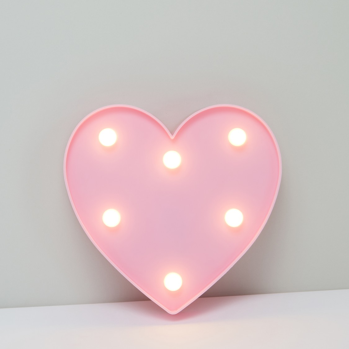 Heart Shaped LED Hanging Wall Decor