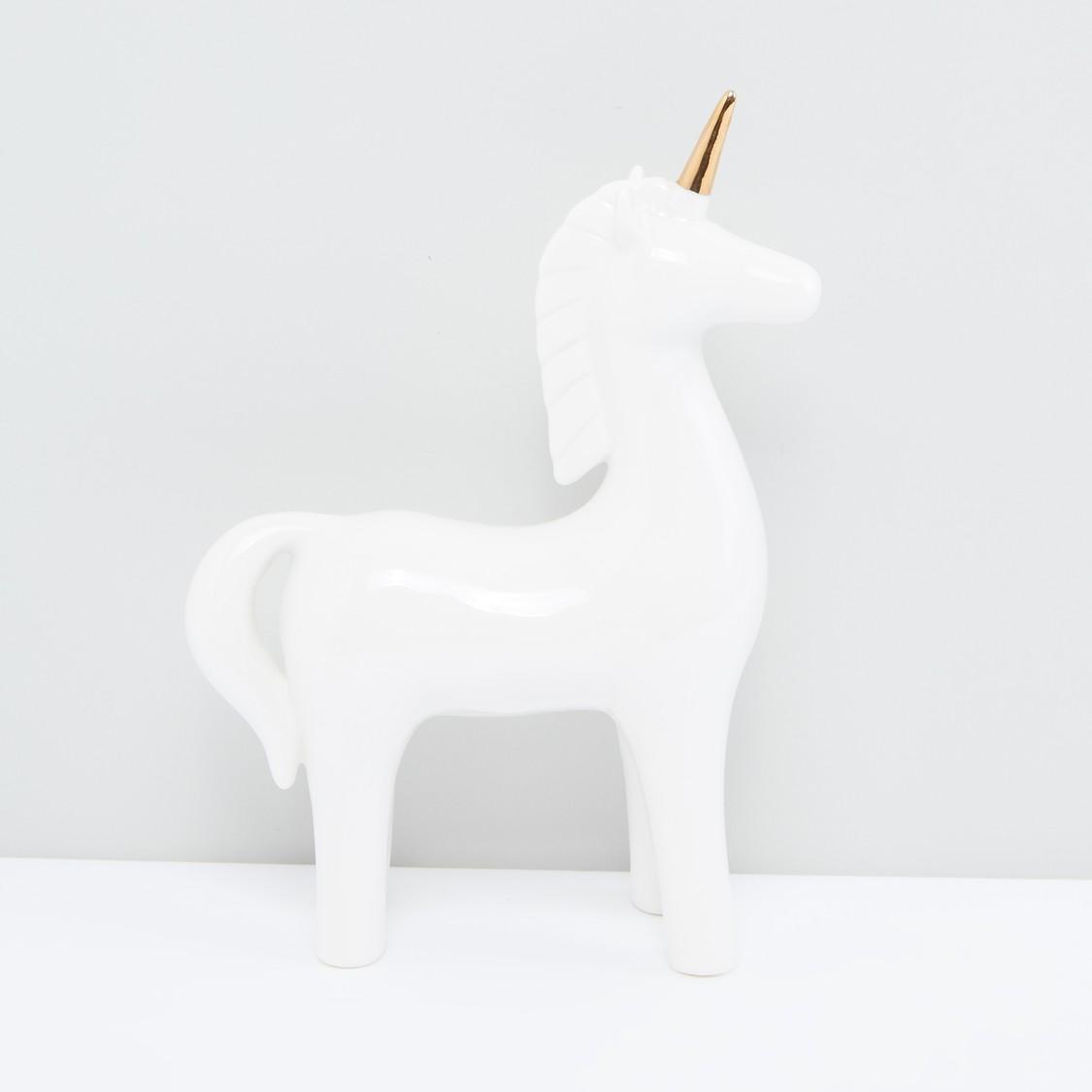 Decorative Unicorn-Shaped Figurine