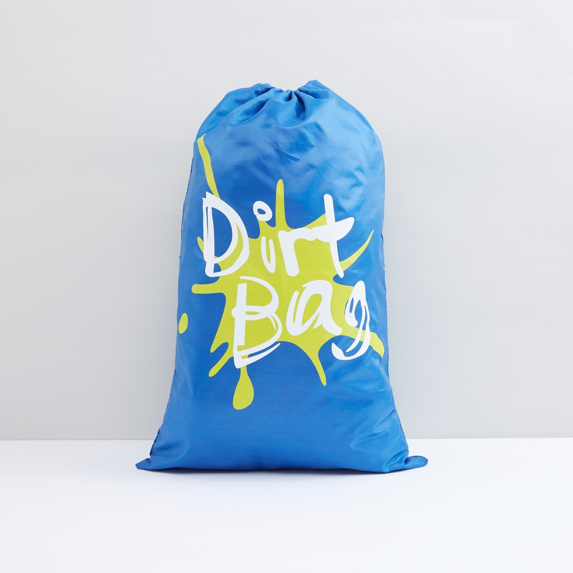 Printed Laundry Hamper with Drawstring