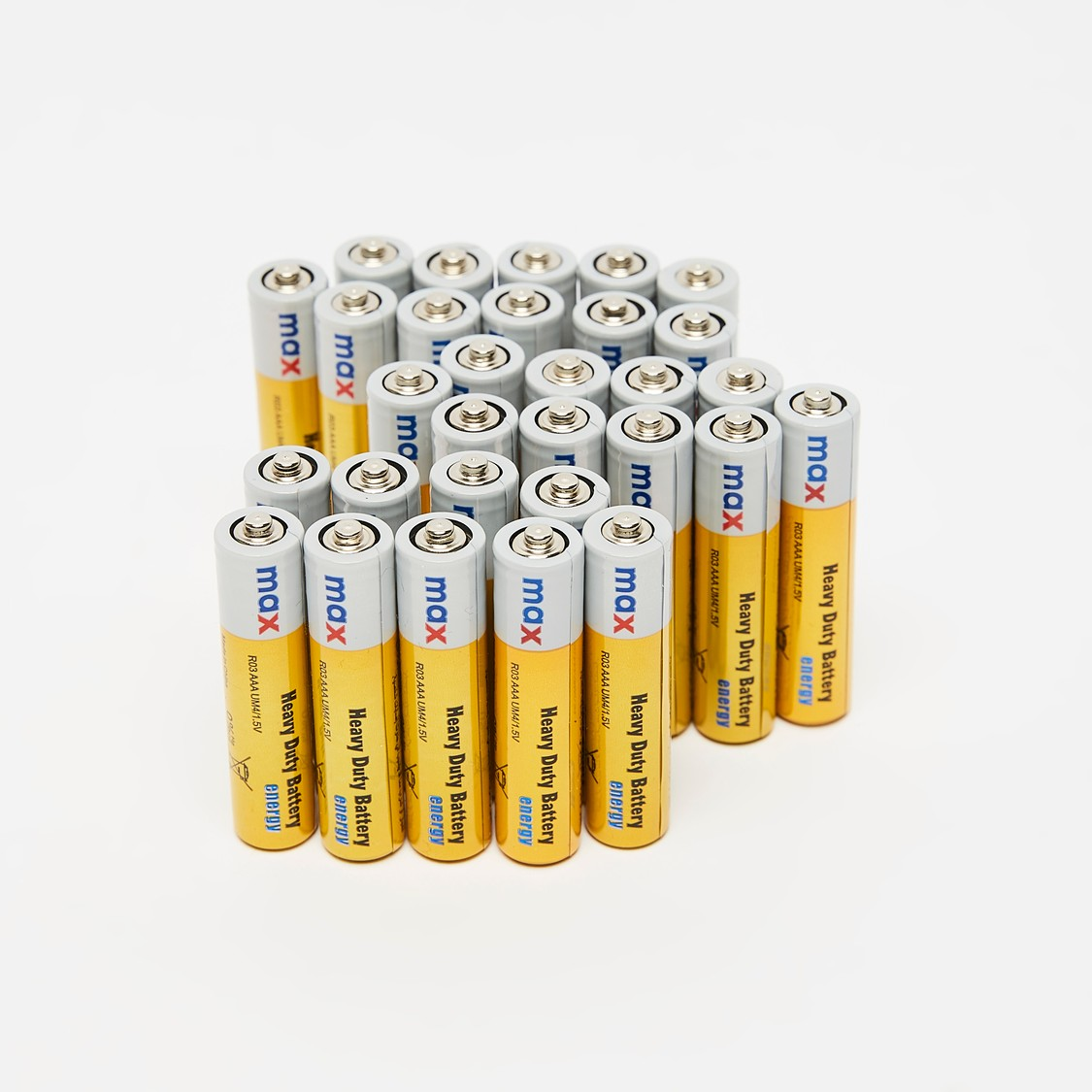 Heavy Duty AAA Battery - 30 Pieces