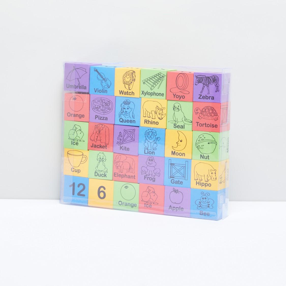 Alphabet Toy Block Set