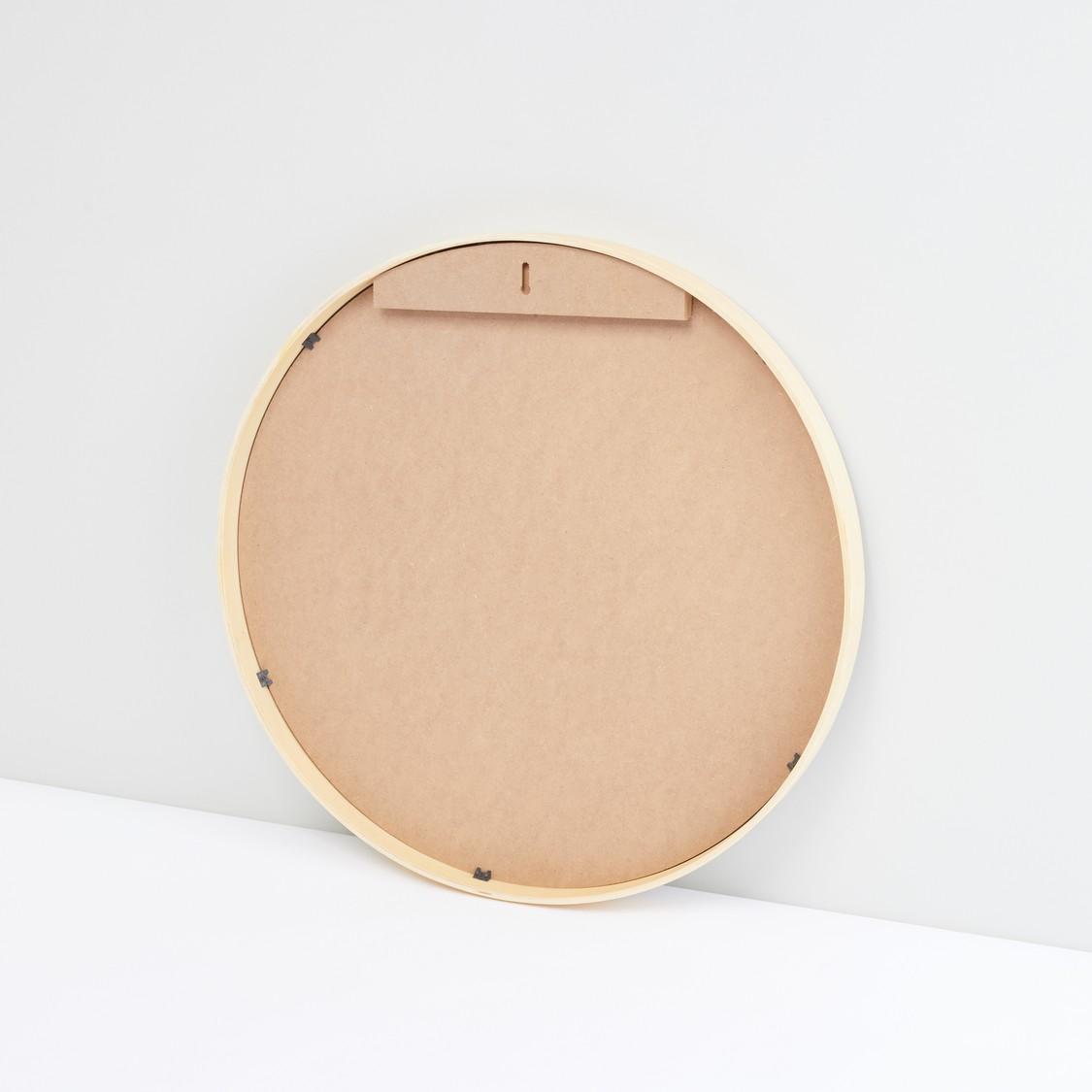 مرآة حائط مستديرة