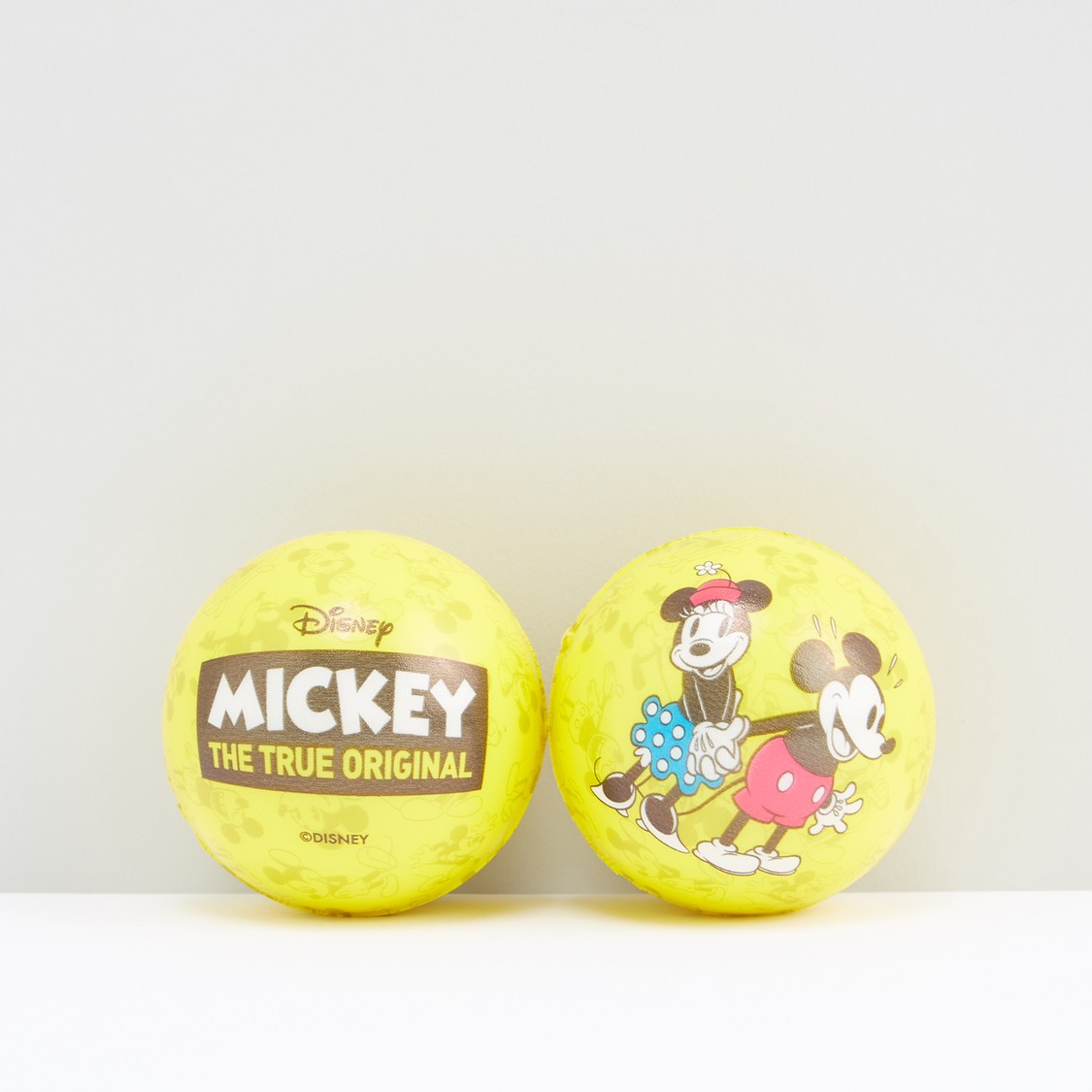 Mickey Mouse Printed Soft Ball - Set of 2