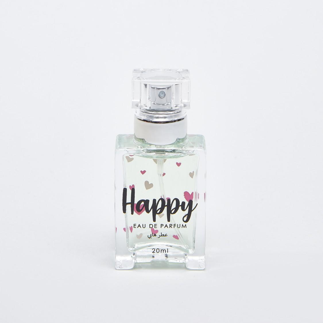 زجاجة عطر أو دو برفوم من هابي - 20 مل
