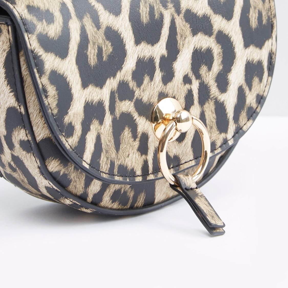 Animal Print Belt Bag