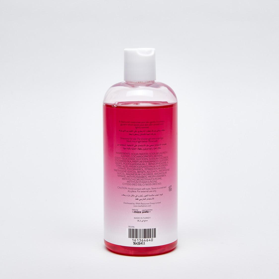 Fruit Essence Luscious Red Berries Shower Gel - 400 ml