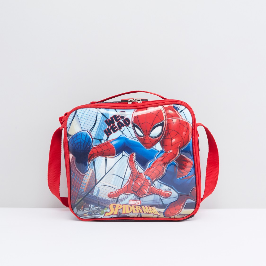 Spider-Man Printed Lunch Bag