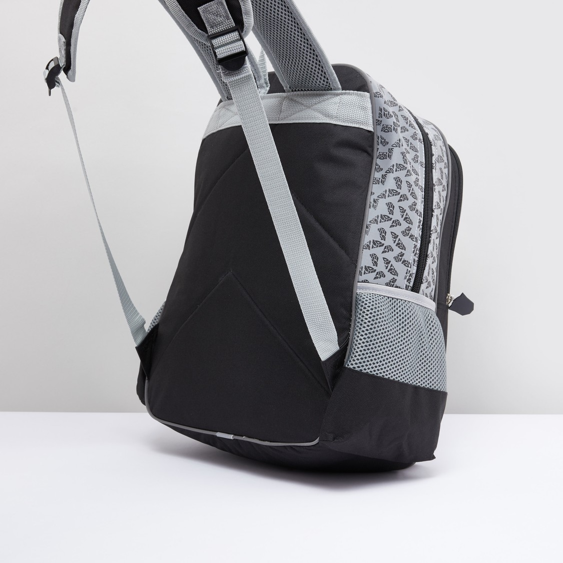 Transformers Printed Backpack with Zip Closure