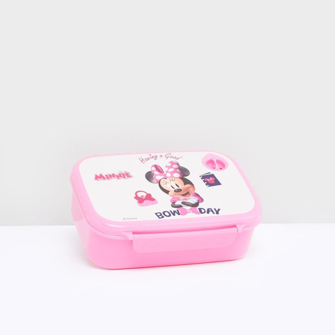 صندوق طعام بطبعات ميني ماوس