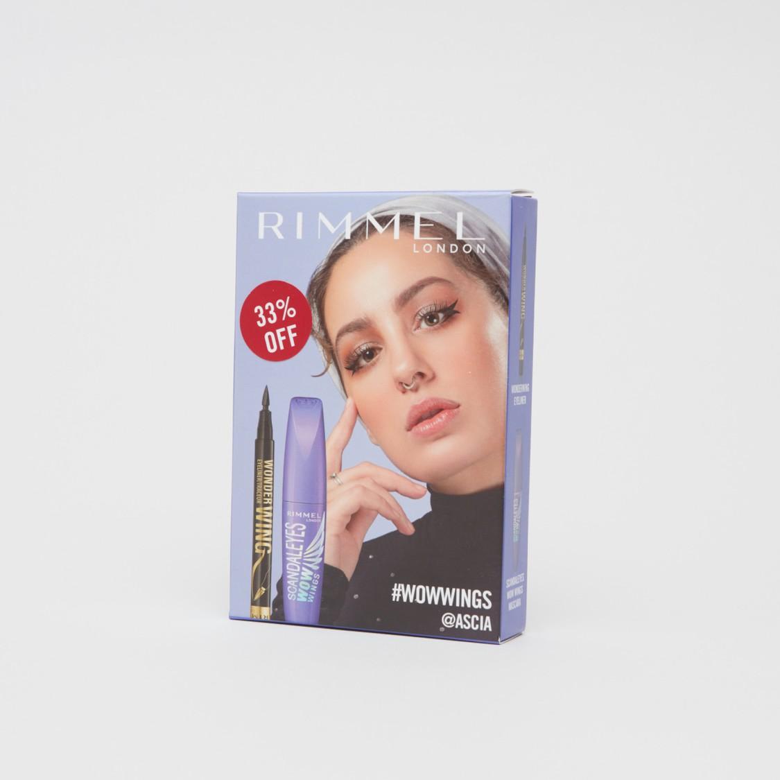 Rimmel Wow Mascara and Wonderwing Eyeliner - 13.5 ml