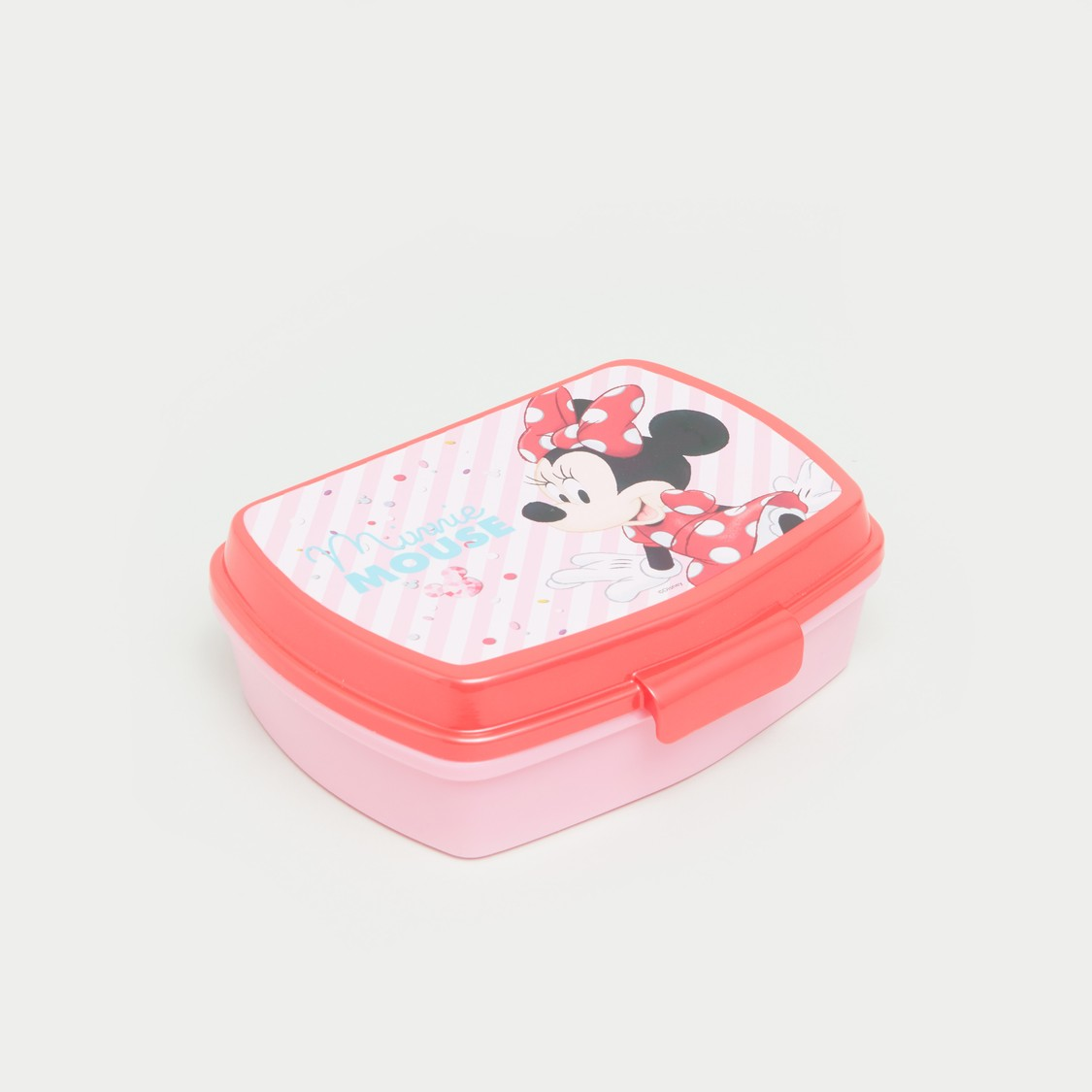 Minnie Mouse Printed Lunch Box and Water Bottle Set