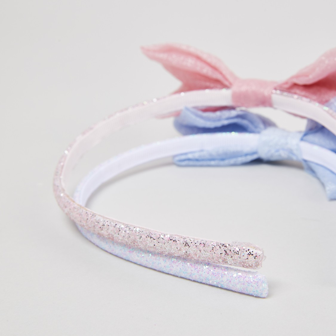 Set of 2 - Bow Applique Hairband